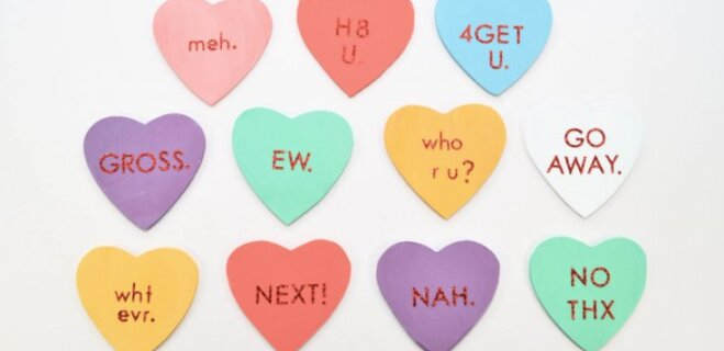 Сердце бы мое не видело. Как пережить День святого Валентина в Facebook?