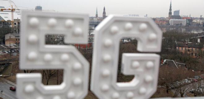 LMT установил первую в Латвии базовую станцию 5G (ФОТО, ВИДЕО)