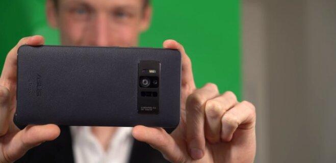 CES 2017: Asus представила первый в мире смартфон с 8GB оперативной памяти (и 23MPix камерой!)