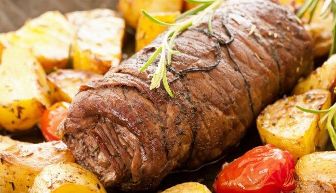 Мясной рулет в духовке: два рецепта на каждый день и на праздники