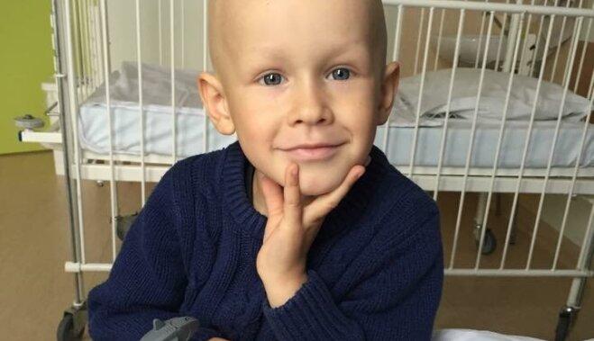 Государство поможет спасти 4-летнего Артура; сбор средств остановлен