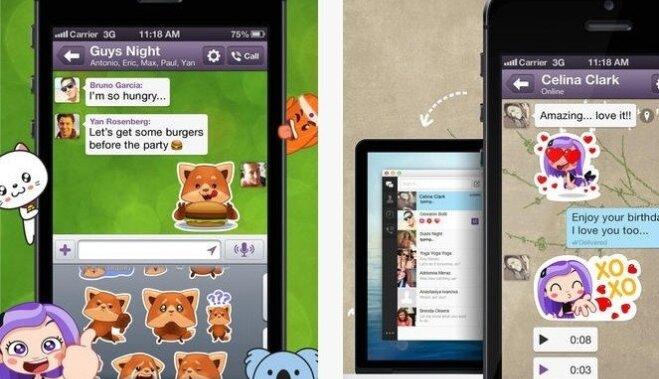 Мессенджер Viber добавил самоуничтожающиеся сообщения и остальные функции