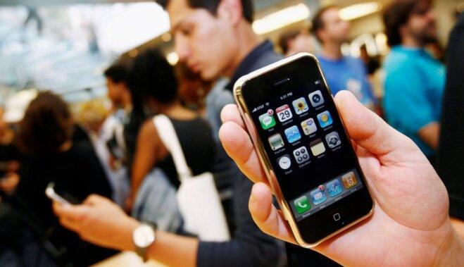 Юбилей 10 лет назад на рынок вышел первый iPhone