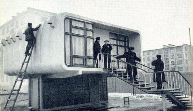 ФОТО: Пластиковые дома-хрущевки, которые хотели строить в СССР