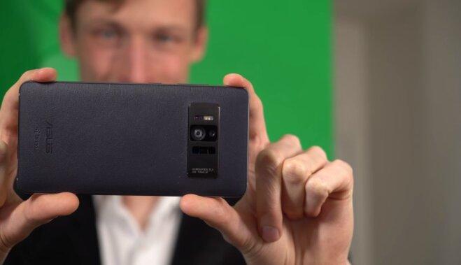 Asus выпустит смартфон стехнологией Google Tango