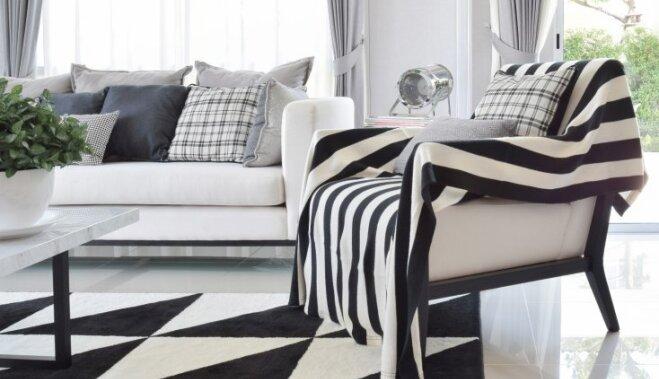 Черное и белое: как правильно применять цвета в интерьере?