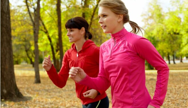 Kur rudenī būs pieejami bezmaksas brīvdabas treniņi Rīgā