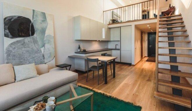 Guļvieta tuvāk zvaigznēm – trīs neparasta plānojuma divlīmeņu dzīvokļi