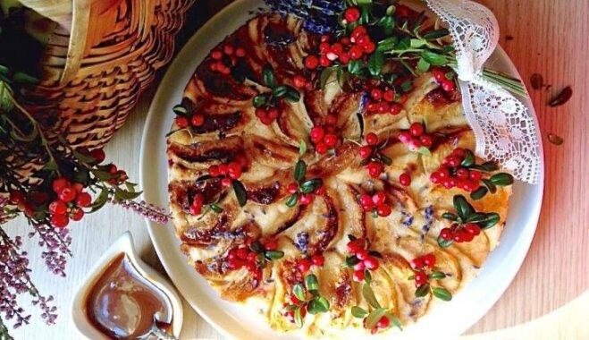 Tēva dienai par godu: 12 aromātiskas ābolkūkas ar saldējumu vai saldu mērcīti