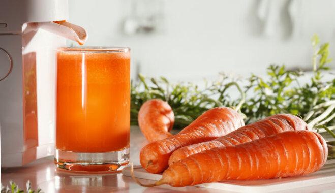 Морковный сок при раке желудка