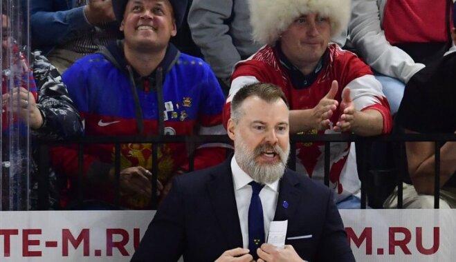 """Тренер сборной Швеции: """"Снимаю шляпу перед латвийской командой"""""""