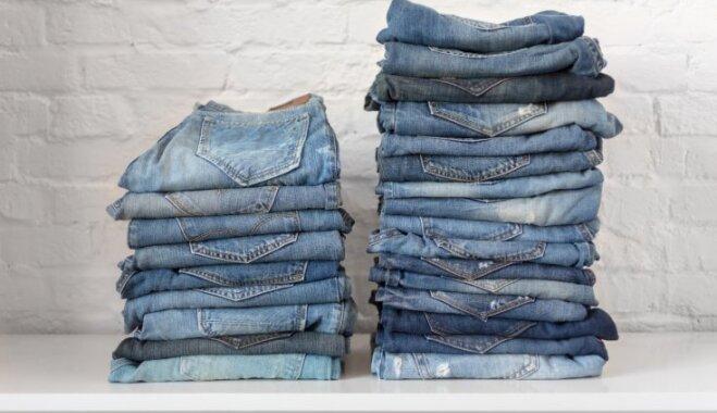 Zilās krāsas saglabāšana – kā pareizi mazgāt džinsa auduma drēbes
