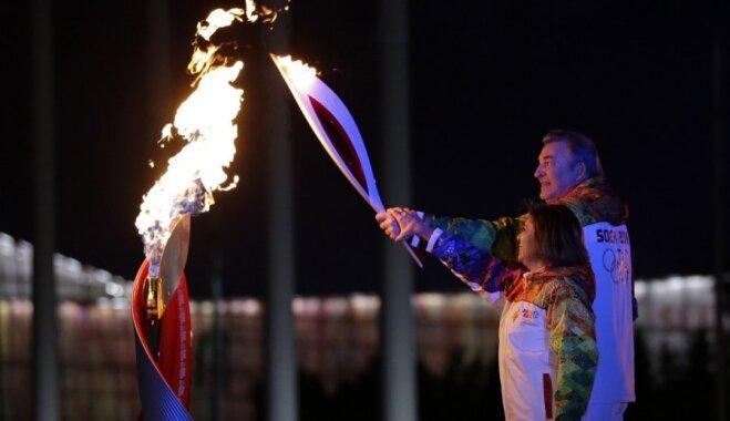 В Сочи официально открылись XXII зимние Олимпийские Игры-2014