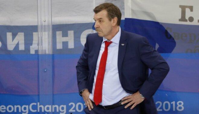 Знарок может покинуть пост главного тренера сборной России по хоккею