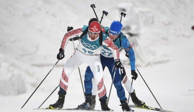 Rastorgujevs olimpiskajās iedzīšanas sacensībās izcīna 12. vietu