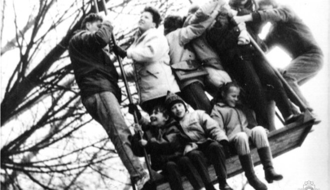Архивное ФОТО: Как раньше в Латвии праздновали Пасху