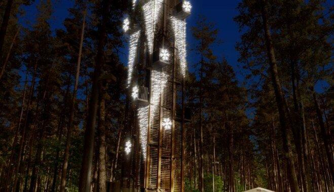 В Юрмале откроется самый большой Парк света в Латвии