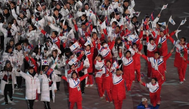 Phjončhanas paralimpisko spēļu atklāšanā nebūs vienotas Korejas delegācijas
