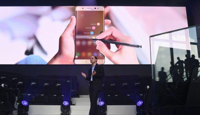 Samsung представила Galaxy Note 7, и в нем есть все то, чего не будет в iPhone 7