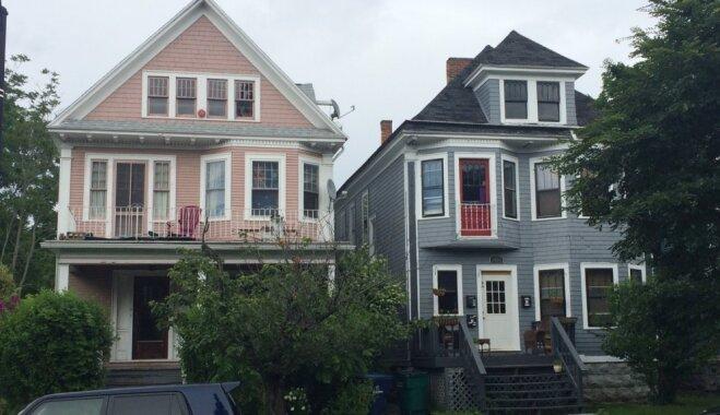 Dzīve kā kino: ieskats tipisku amerikāņu mājiņu rajonos