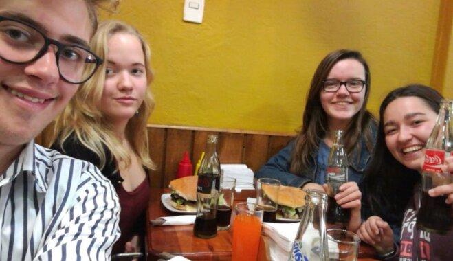 Латышская школьница в Чили. Репортаж с другого конца света
