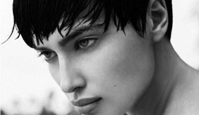 Ирина Шейк обнародовала кадры сострижкой «под мальчика»