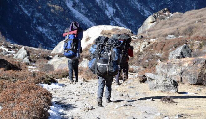 Путешественники из Латвии пройдут по самому сложному маршруту в Гималайях