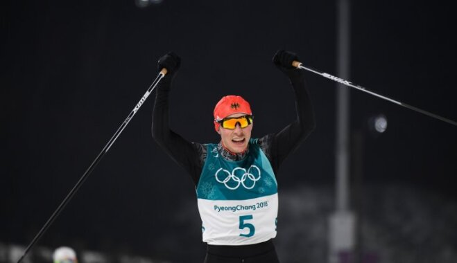 Френцель выиграл лыжное двоеборье на Олимпийских играх в Пхенчхане