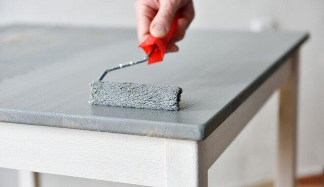 Veco mēbeļu pārvērtības ar pārkrāsošanu - kļūdas, ko nepieļaut