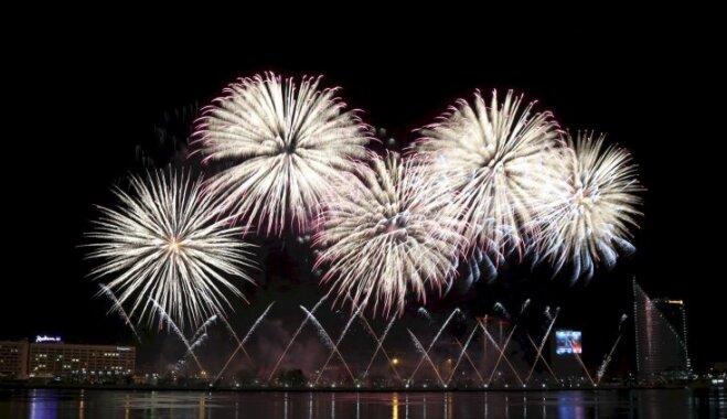 Jaungada uguņošana Rīgā šogad izmaksās 25 187 eiro