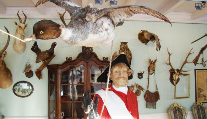 Brīvdienu maršruts: Ciemos pie melu barona Minhauzena Duntes muižā