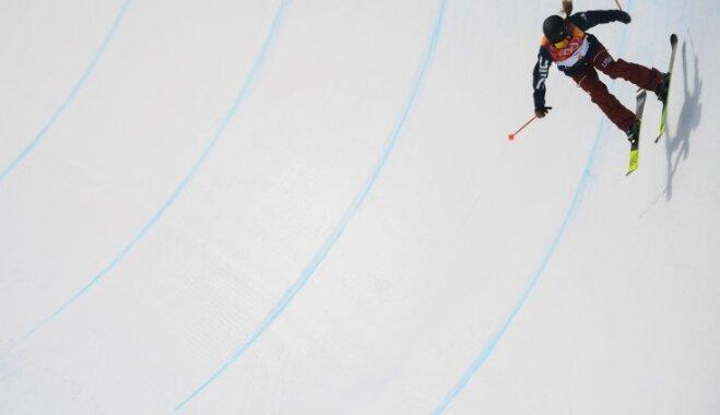 ВИДЕО. Курьез: Венгерская лыжница удивила выступлением в хафпайпе