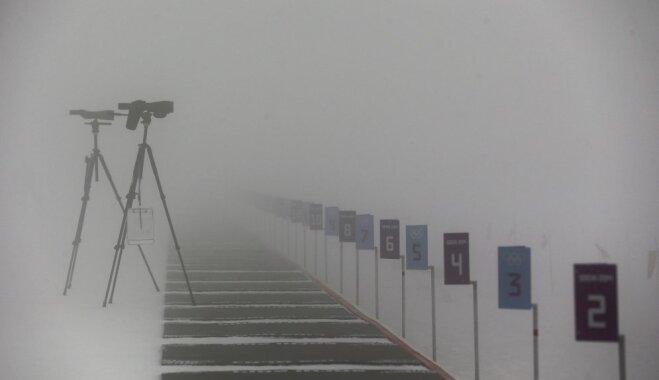 Олимпиада-2018. Индивидуальная гонка биатлонисток перенесена из-за ураганного ветра