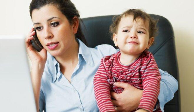 Nejusties vainīgai un plānot darāmo – padomi mammām laika līdzsvarošanai starp darbu un ģimeni