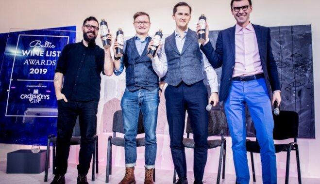 Latvijas restorāni konkursā atzīti par vīnmīļiem draudzīgākajiem Baltijā