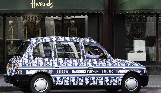 Модный бренд запустил свою линию такси