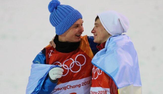 Спорт вне политики: украинец и россиянин обнялись на олимпийском пьедестале