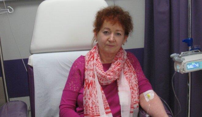 Medikamentu cena – šķērslis veselībai. Tatjana lūdz palīdzību ādas vēža uzveikšanai