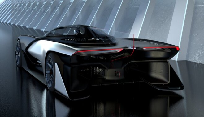 CES-2016: Faraday Future представила безумный электромобиль мощностью 1000 л/с