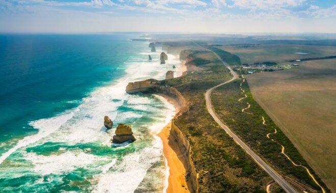 Tūristu iecienītie 12 apustuļi Austrālijā, no kuriem palikuši vien tikai astoņi