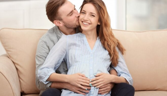Pieskāriena milzu spēks grūtniecības laikā; kā topošais tētis var iesaistīties tuvībā ar mazo