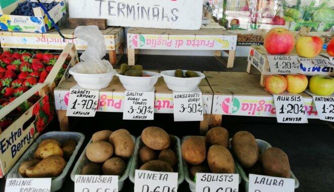 Новое лучше старого? Delfi изучает Зиепниеккалнский рынок и рынок Валдекю