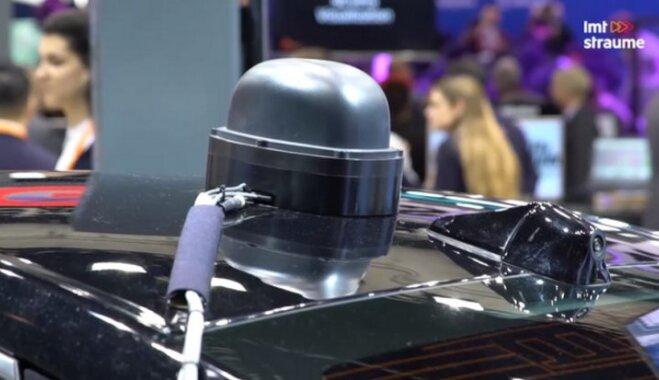 LMT на выставке MWC в Барселоне показал беспилотное авто на технологиях 5G