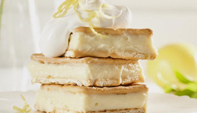 Cepumu kūka ar citronu krēmu