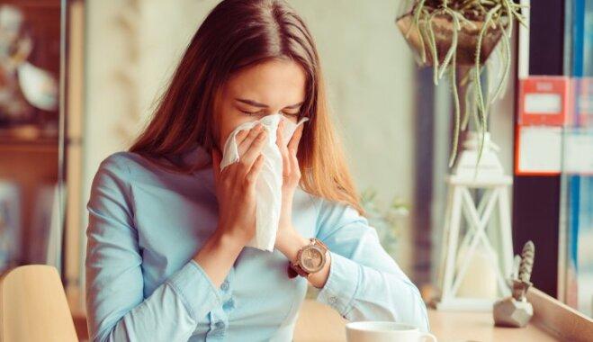 Infografika: Ieteikumi gripas profilaksei un ārstēšanai