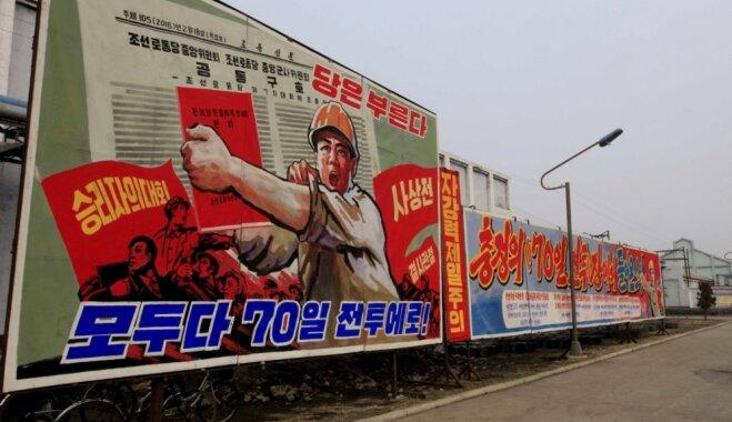 Ziemeļkorejas olimpisko delegāciju Phjončhanā varētu izmitināt uz kuģa