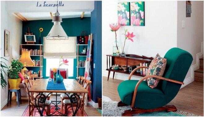 Foto: Košs un kompakts mājoklis, kurā neviena krāsa nav nejauša