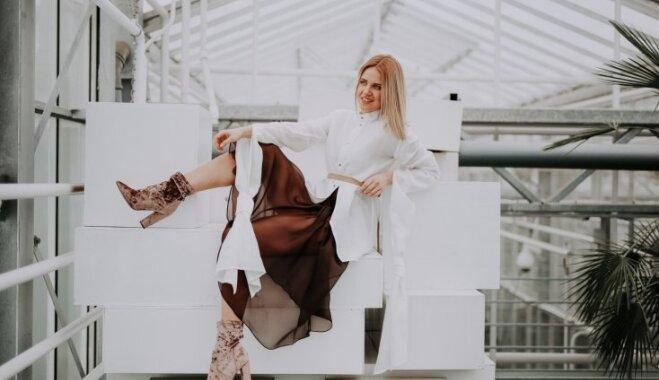 Jauns vārds Latvijas dizainā: Anna Elizabete Kasparsone apgūst luksusa modi Londonā