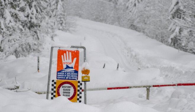 В Австрии эвакуировали популярный горнолыжный курорт