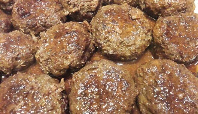 Foto recepte: sulīgi aļņa gaļas bifšteki